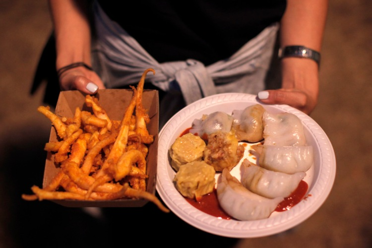 NIGHT NOODLE MARKETS YUM CHA DUMPLINGS OOTD FOOD