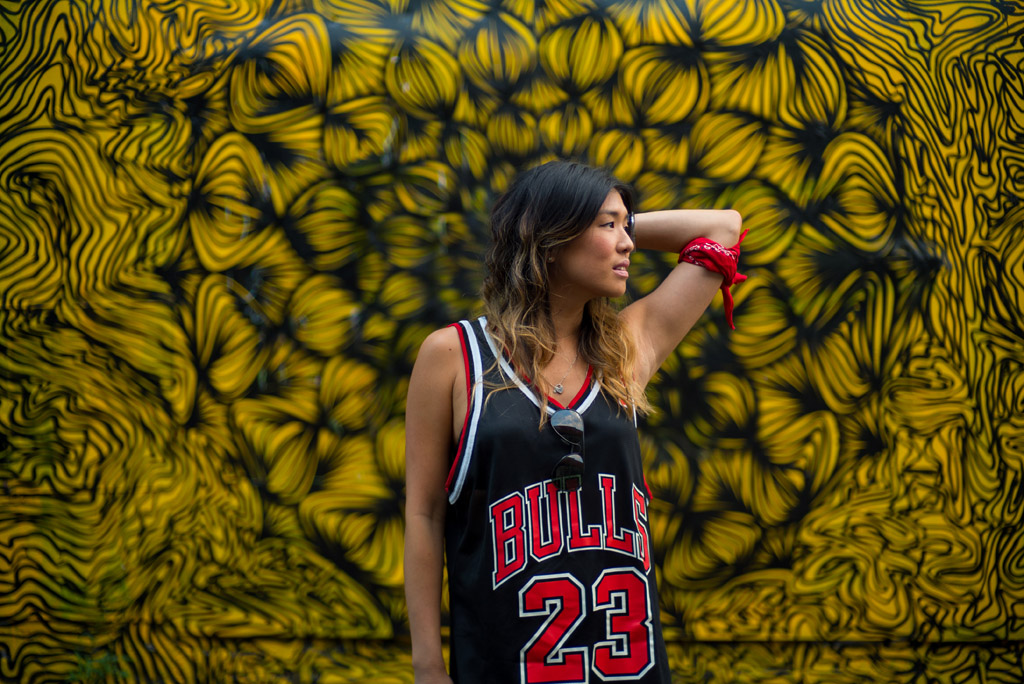 GRAFFITI ENMORE CHICAGO BULLS JORDAN