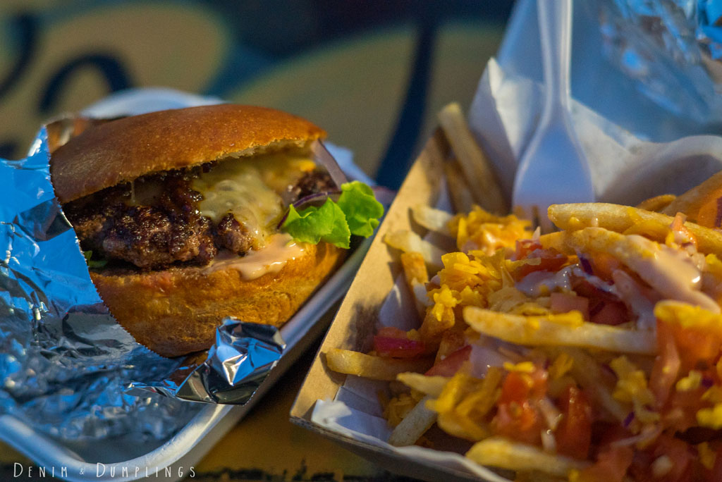 FOOD TRUCK BURGER TRUCK MISTER GEE BURWOOD